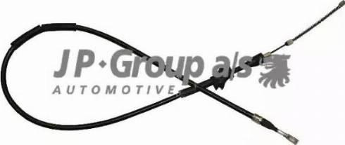 JP Group 1170306680 - Трос, стояночная тормозная система autodif.ru