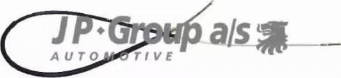 JP Group 1170300200 - Трос, стояночная тормозная система autodif.ru