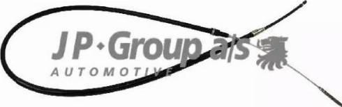 JP Group 1170301200 - Трос, стояночная тормозная система autodif.ru