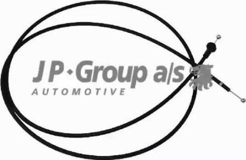 JP Group 1170700200 - Тросик замка капота autodif.ru