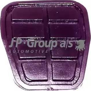 JP Group 1172200100 - Педальные накладка, педаль тормоз autodif.ru