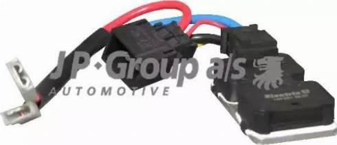 JP Group 1399150100 - Блок управления, эл. вентилятор (охлаждение двигателя) autodif.ru