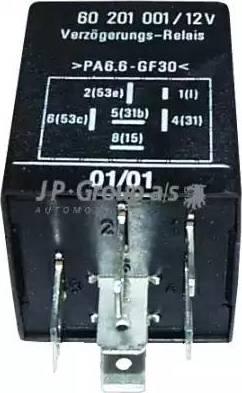 JP Group 1299200300 - Реле, интервал включения стеклоочистителя autodif.ru