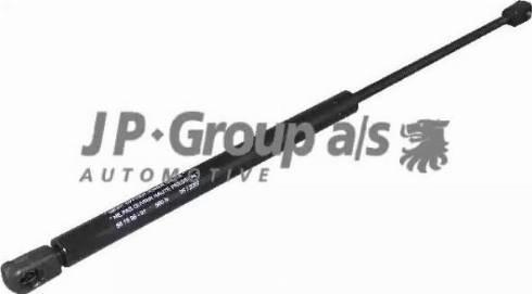 JP Group 1281201500 - Газовая пружина, крышка багажник autodif.ru