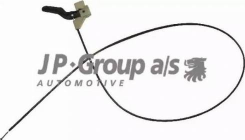 JP Group 1270700100 - Тросик замка капота autodif.ru