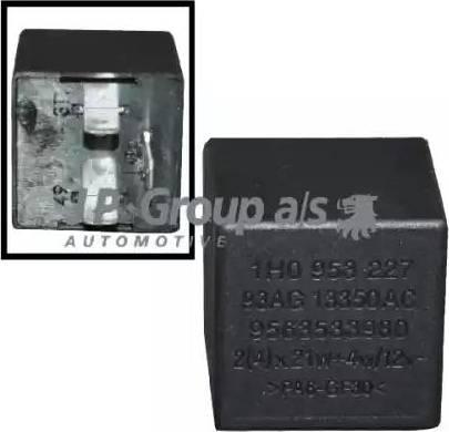 JP Group 8199200400 - Реле аварийной световой сигнализация autodif.ru
