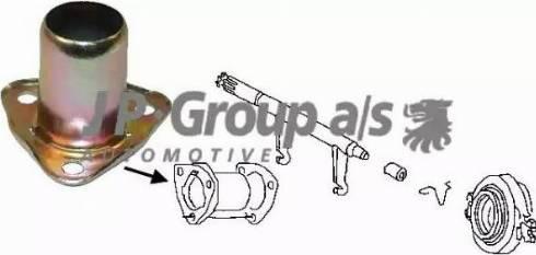 JP Group 8130300100 - Направляющая гильза, система сцепления autodif.ru