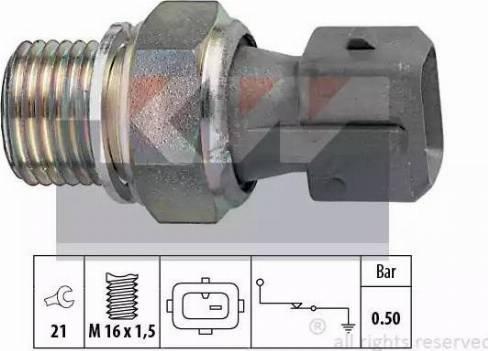 KW 500 116 - Датчик давления масла autodif.ru