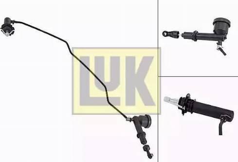 LUK 513 0077 10 - Главный / рабочий цилиндр, система сцепления autodif.ru