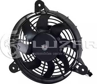 Luzar LFAC0503 - Вентилятор, конденсатор кондиционера autodif.ru