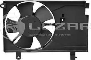 Luzar LFAC0520 - Вентилятор, конденсатор кондиционера autodif.ru