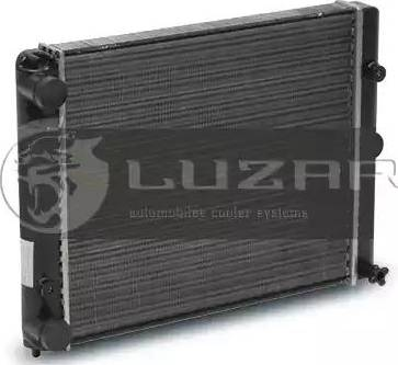 Luzar LRC0410 - Радиатор, охлаждение двигателя autodif.ru