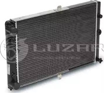 Luzar LRC01080 - Радиатор, охлаждение двигателя autodif.ru