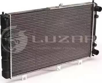 Luzar LRC0127 - Радиатор, охлаждение двигателя autodif.ru