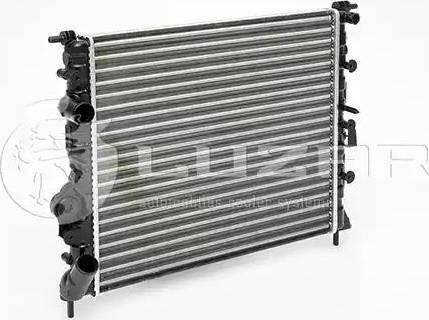 Luzar LRCRELO04334 - Радиатор, охлаждение двигателя autodif.ru