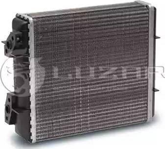 Luzar LRH0106 - Теплообменник, отопление салона autodif.ru