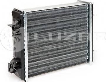 Luzar LRH0101 - Теплообменник, отопление салона autodif.ru