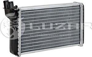Luzar LRh0110 - Теплообменник, отопление салона autodif.ru