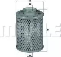 Mahle Original HX5 - Гидрофильтр, рулевое управление autodif.ru