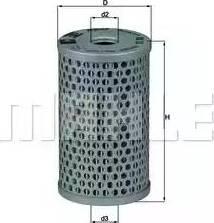 Mahle Original HX15 - Гидрофильтр, рулевое управление autodif.ru
