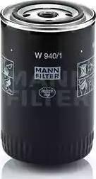 Mann-Filter W9401 - Фильтр, Гидравлическая система привода рабочего оборудования autodif.ru