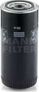 Mann-Filter W 962 - Фильтр, Гидравлическая система привода рабочего оборудования autodif.ru
