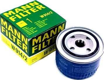 Mann-Filter W 914/2 (10) - Гидрофильтр, автоматическая коробка передач autodif.ru
