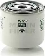 Mann-Filter W 917 - Фильтр, Гидравлическая система привода рабочего оборудования autodif.ru