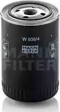 Mann-Filter W9364 - Фильтр, Гидравлическая система привода рабочего оборудования autodif.ru
