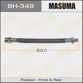 MASUMA BH349 - Комплект тормозных колодок autodif.ru