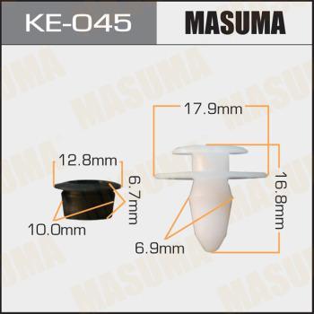 MASUMA KE045 - Зажим, молдинг / защитная накладка autodif.ru