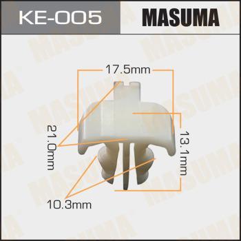 MASUMA KE005 - Зажим, молдинг / защитная накладка autodif.ru