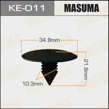 MASUMA KE011 - Зажим, молдинг / защитная накладка autodif.ru