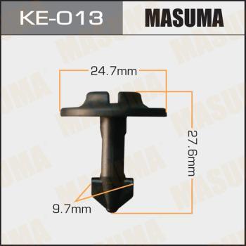 MASUMA KE013 - Крепёжный элемент, кожух двигателя autodif.ru