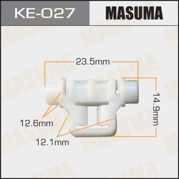 MASUMA KE027 - Зажим, молдинг / защитная накладка autodif.ru