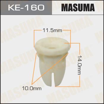 MASUMA KE160 - Зажим, молдинг / защитная накладка autodif.ru