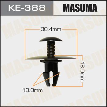 MASUMA KE388 - Зажим, молдинг / защитная накладка autodif.ru
