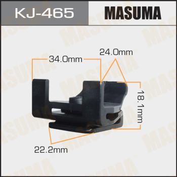 MASUMA KJ465 - Зажим, молдинг / защитная накладка autodif.ru