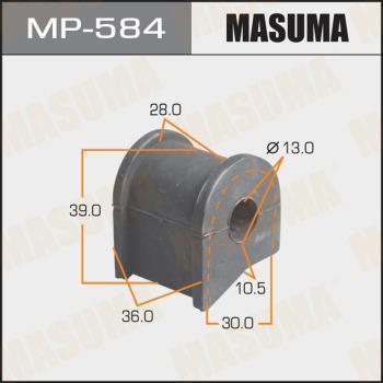 MASUMA MP584 - Комплект проводов зажигания autodif.ru