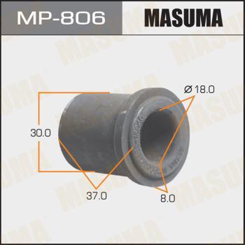 MASUMA MP806 - Втулка, листовая рессора autodif.ru