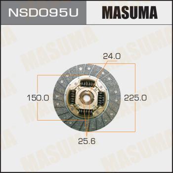 MASUMA NSD095U - Комплект сцепления autodif.ru