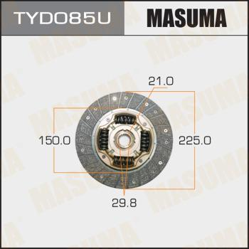 MASUMA TYD085U - Комплект сцепления autodif.ru