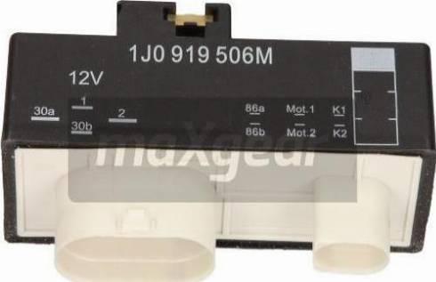 Maxgear 500068 - Блок управления, эл. вентилятор (охлаждение двигателя) autodif.ru