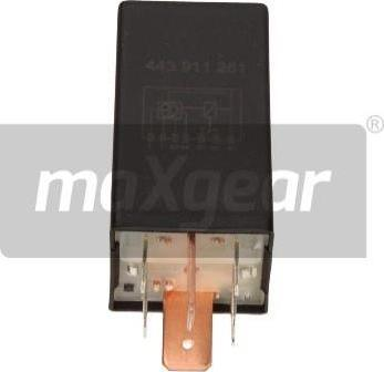 Maxgear 50-0007 - Блок управления, время накаливания autodif.ru