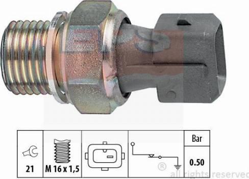 MDR EPS-1800 116 - Датчик давления масла autodif.ru