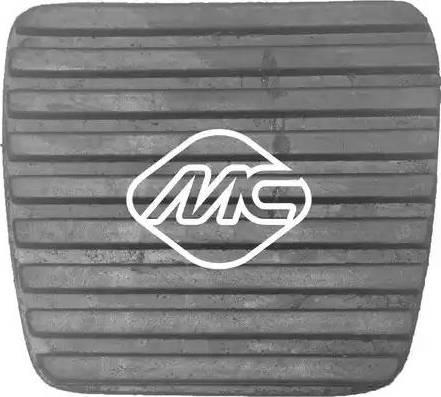 Metalcaucho 04069 - Накладка на педаль, педаль сцепления autodif.ru