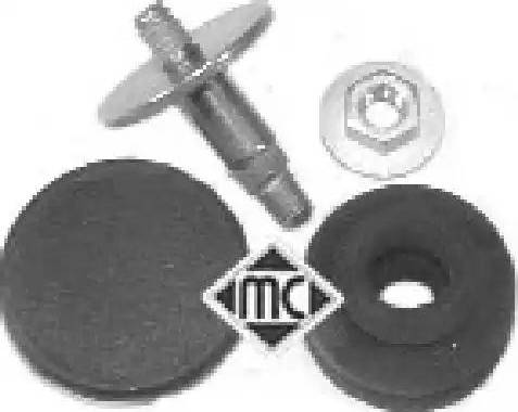 Metalcaucho 04365 - Крепёжный элемент, кожух двигателя autodif.ru