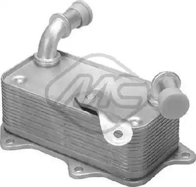 Metalcaucho 06343 - Масляный радиатор, автоматическая коробка передач autodif.ru