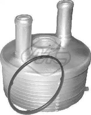 Metalcaucho 06324 - Масляный радиатор, автоматическая коробка передач autodif.ru