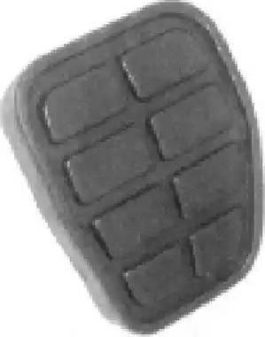 Metalcaucho 00864 - Педальные накладка, педаль тормоз autodif.ru